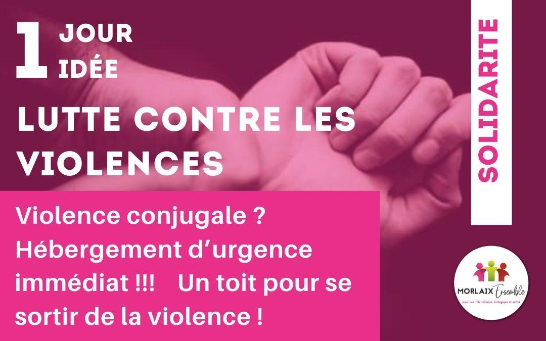 Lutte contre la violence