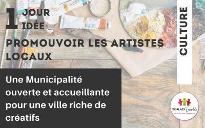 Promouvoir les artistes locaux