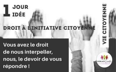 Droit à l'initiative citoyenne