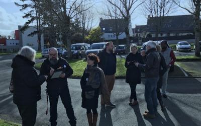 Visite quartier Kerozar & La Boissiere FJT EHPAD – le 08 fev 2020